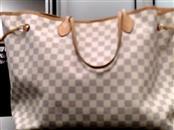 LOUIS VUITTON Handbag DAMIER AZUR NEVERFULL GM